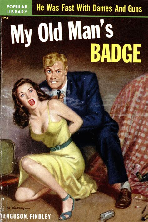 dead s badge books my man s badge pulp covers