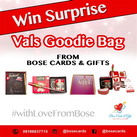 Bose Gift Card - win surprise vals goodies from bose cards gifts bellanaija