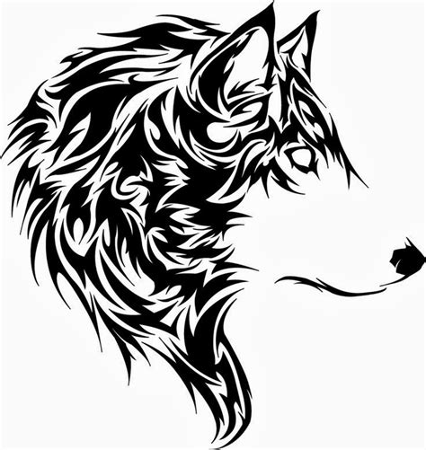 wolf tattoo stencils tattoo collection