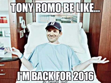 tony romo injury meme tony romo back injury memes the best of the s