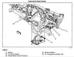 2002 chevy tahoe ac actuator diagram get free image