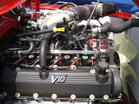 ford panel v10 triton engine last originals car show