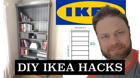 diy hacks youtube diy ikea hacks liatorp bookshelf how to youtube