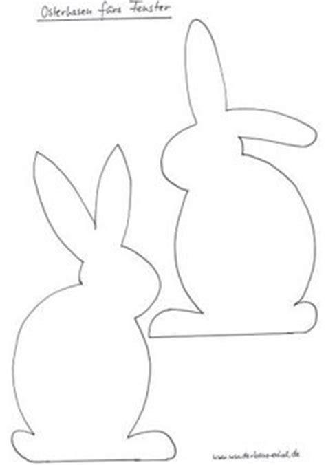 Kostenlose Vorlage Hase osterhase papier silhouette ausschneiden vorlage kostenlos fr 252 hling kaninchen