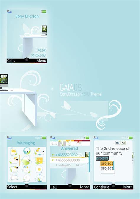 download themes k800i gaia08 se k800i theme by reb70 on deviantart