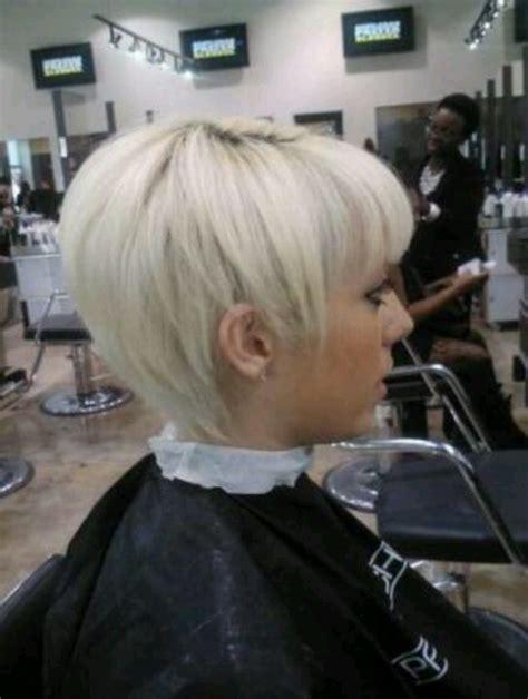 platinum pixie  bangs short hairstylecuts pinterest short girl haircuts edgy pixie