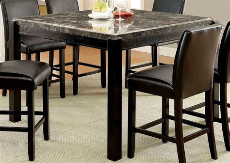 gray counter height table gladstone i gray marble top counter height table from