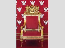 FilePolish Throne At Warsaw Royal CastlePNG