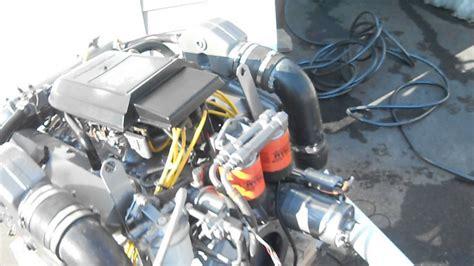 boat engine no power marine power 454 running engine youtube