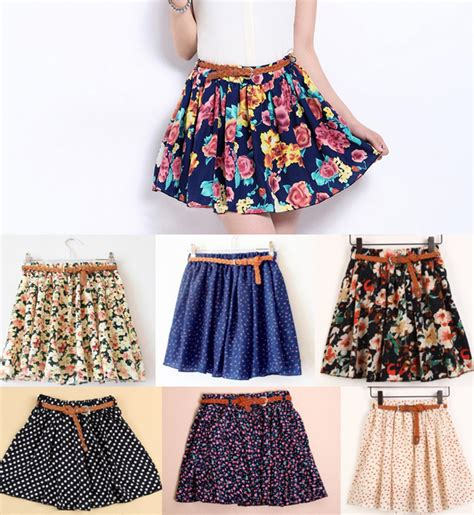 sale retro high waisted vintage floral skirt from lucky
