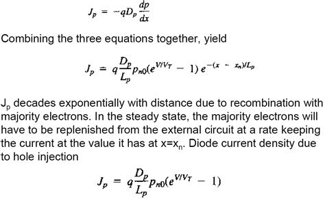 diode equation one diode equation 28 images current vs voltage properties of a diode ideal diode and diode