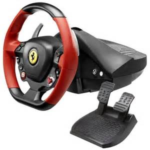 buy thrustmaster 458 spider racing wheel for xbox