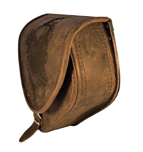 harley davidson swing arm saddle bag harley davidson softail skull brown leather saddlebag