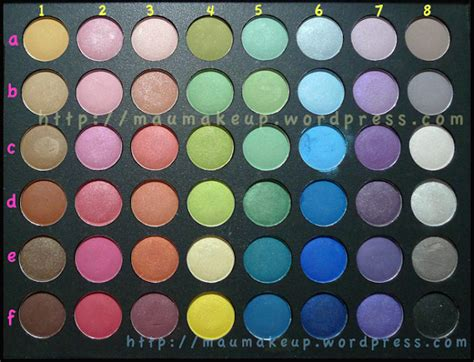 Eyeshadow Pac merilla may s review complete swatches eotd
