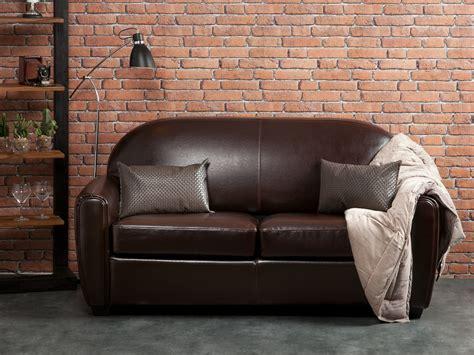 Exceptionnel Salon De Jardin 2 Places #8: B001CTC6029018-0403-2250-p01-canape-club-places-convertible-croute-cuir-enduite-fauteuils-tenessee.jpg