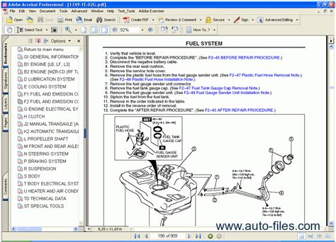 auto repair manual free download 2003 mazda mazda6 security system mazda 6 tis repair manuals download wiring diagram electronic parts catalog epc online