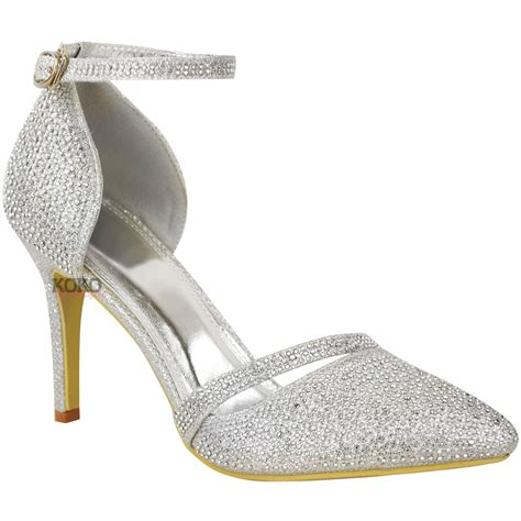 new womens bridal evening shoes wedding prom