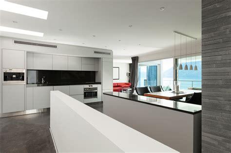 cocina moderna en loft fotos   te inspires