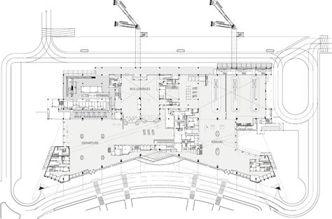airport terminal floor plans gallery of new terminal at lucknow airport s ghosh