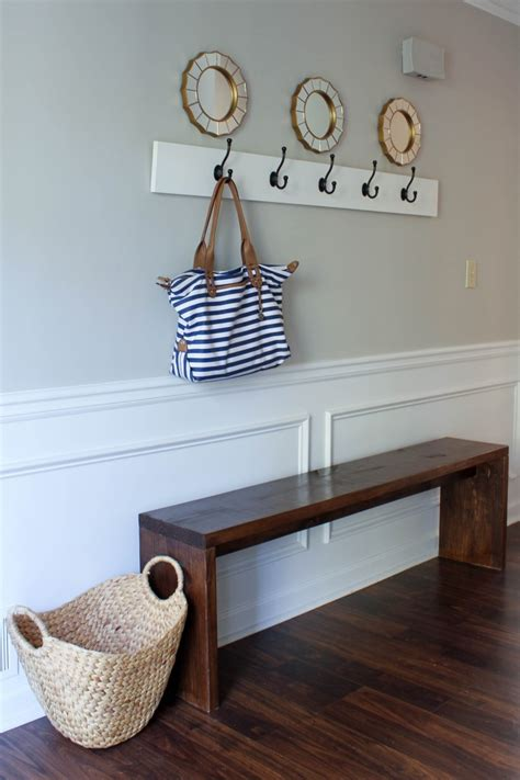 diy entryway 30 interesting diy entryway bench ideas cool diys
