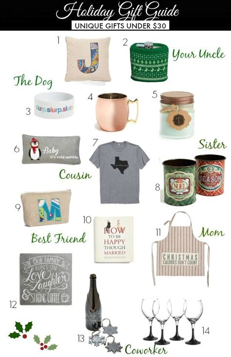 holiday gift guide unique gifts under 30 honey we re home