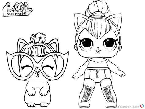 lol coloring pages kitty queen  printable coloring pages