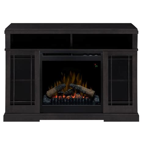 dimplex farley 47 in media console electric fireplace in