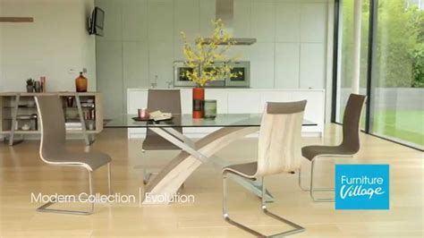 furniture village dining table and chairs glass dining tables sets evolution furniture
