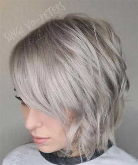 short ash blond hair 50 best short haircuts you will want to try in 2018