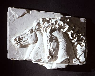 renaissance roman arch wall niche medium wall sculpture roman horse fragment wall frieze