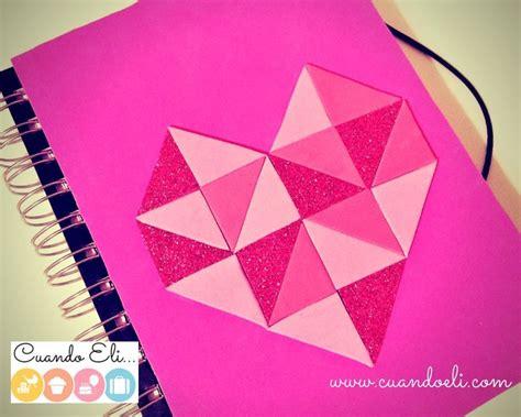 como decorar mis hojas de colores libreta decorada con coraz 243 n geom 233 trico mam 225 161 puedo hacerlo