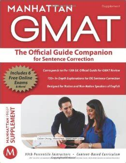 Manhattan Mba Review by Book Review The Manhattan Gmat Official Guide Companions