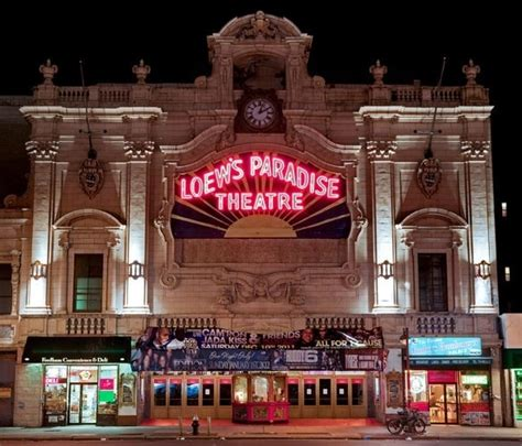 theater bronx loew s paradise theatre in bronx ny cinema treasures