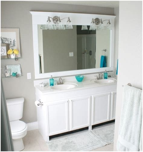 bathroom mirror ideas diy how wonderful are these diy bathroom mirror ideas