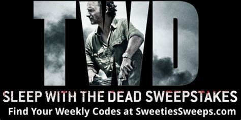 Who Won The Walking Dead Sweepstakes - amc the walking dead sleep with the dead sweepstakes codes