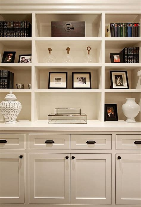 White Traditional Living Room With Box Shelves Furniture White Bookcase With Box