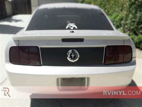 mustang tail lights 2005 rtint 174 ford mustang 2005 2009 tail light tint film