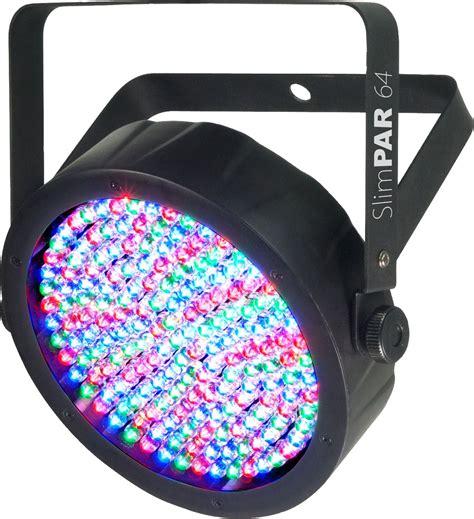 dmx lights chauvet slimpar 64 rgb dmx led wash light pssl