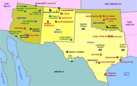 southwest map usa map of southwest usa los libros resumidos de resumelibros tk