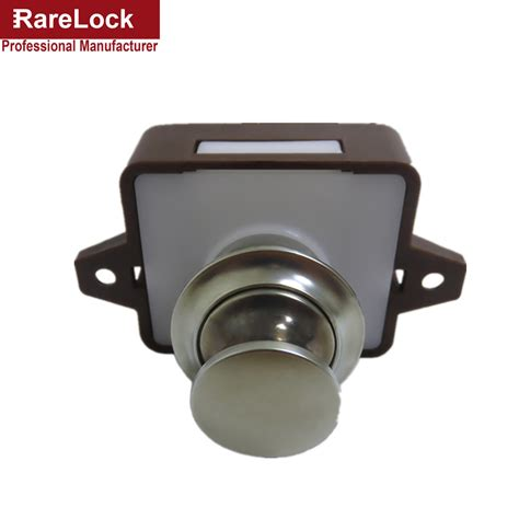 rarelock push button cabinet lock for ambulance rv caravan