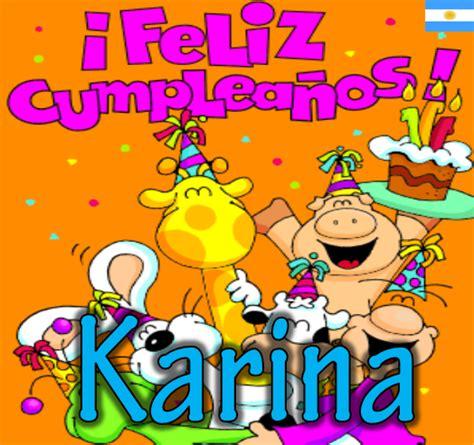 imagenes de cumpleaños kary feliz cumplea 241 os kary