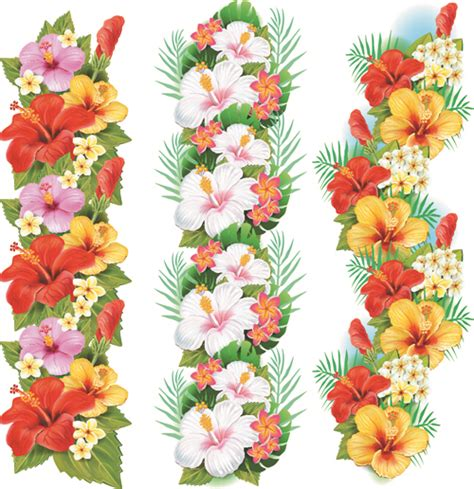 flowers borders vector set 03 vector flower free download clipart best clipart best