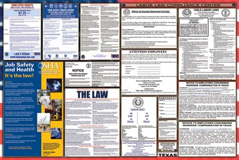 printable federal labor laws poster federal labor law posters free download