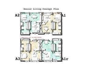 house plans for seniors mcm design senior living plans