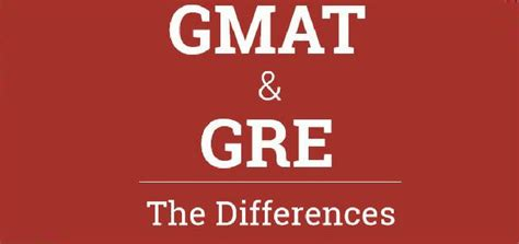 Are Mba S Required To Take The Gre by The Key Differences Between Gre Gmat Jamboree India