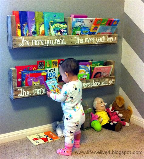 Dr Seuss Bedroom diy easy and cheap book shelf