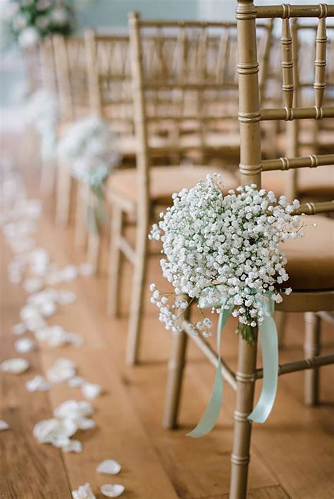 Flower Ideas Gold Wedding by Gold Wedding Decorations Wedding Ideas By Colour Chwv