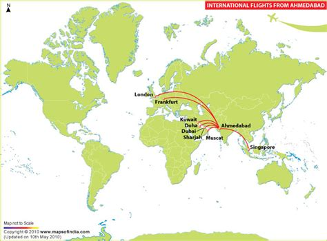 flight route map from india to usa international flights from ahmedabad