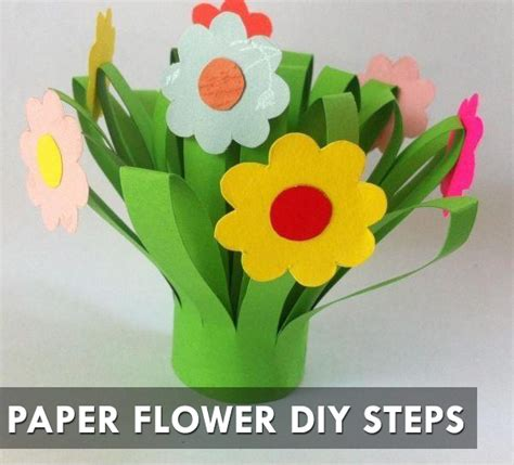Steps In Paper Flower - paper flower diy steps motivational trends