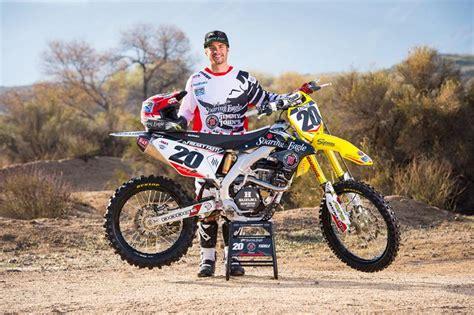 Suzuki Motocross Riders Broc Tickle Joins Ken Roczen At Rch Racing Suzuki Perthmx